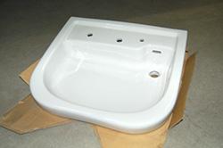 名車いす対応洗面器